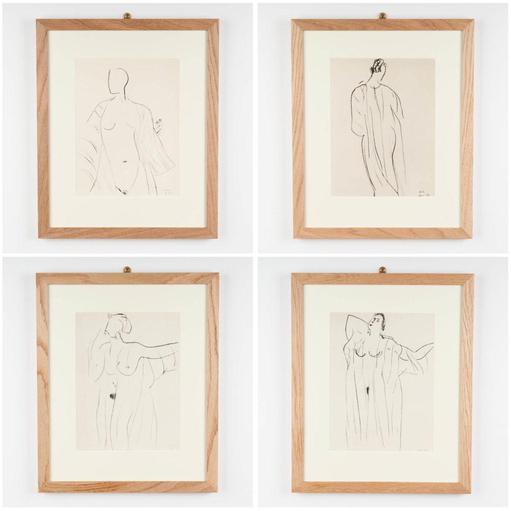 Henri Matisse lithograph,-134529