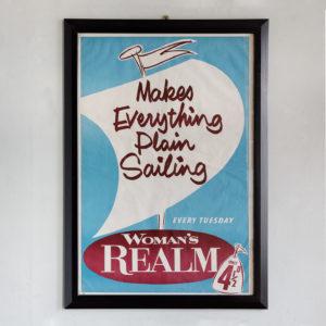 Original magazine publicity posters,