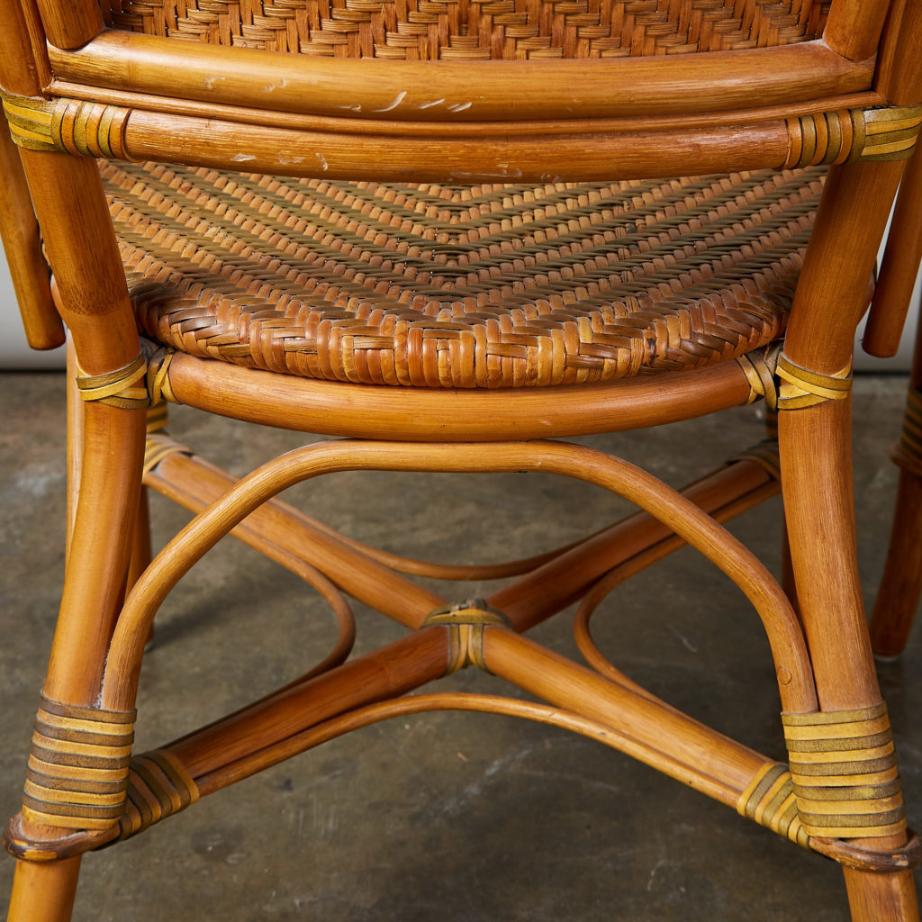 A pair of conservatory armchairs,-135366