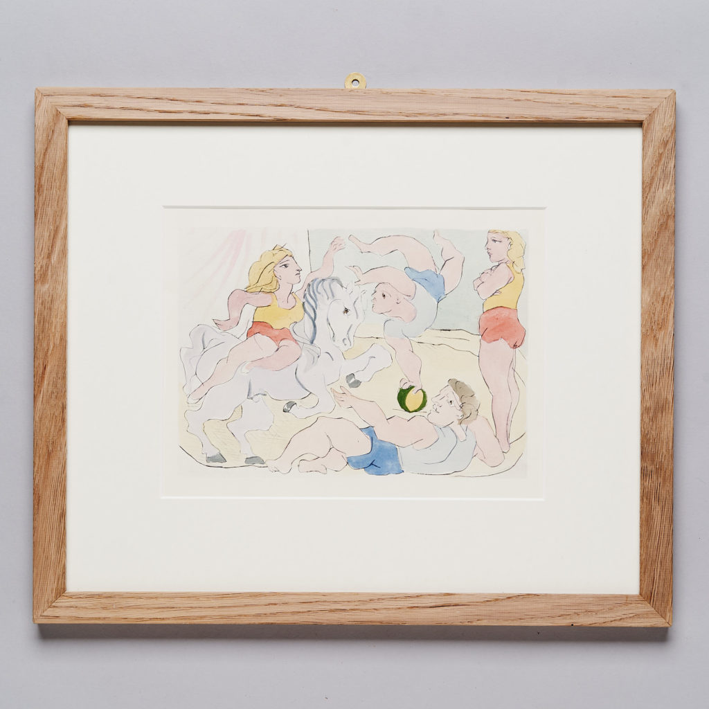 Hand coloured Pablo Picasso lithograph-0