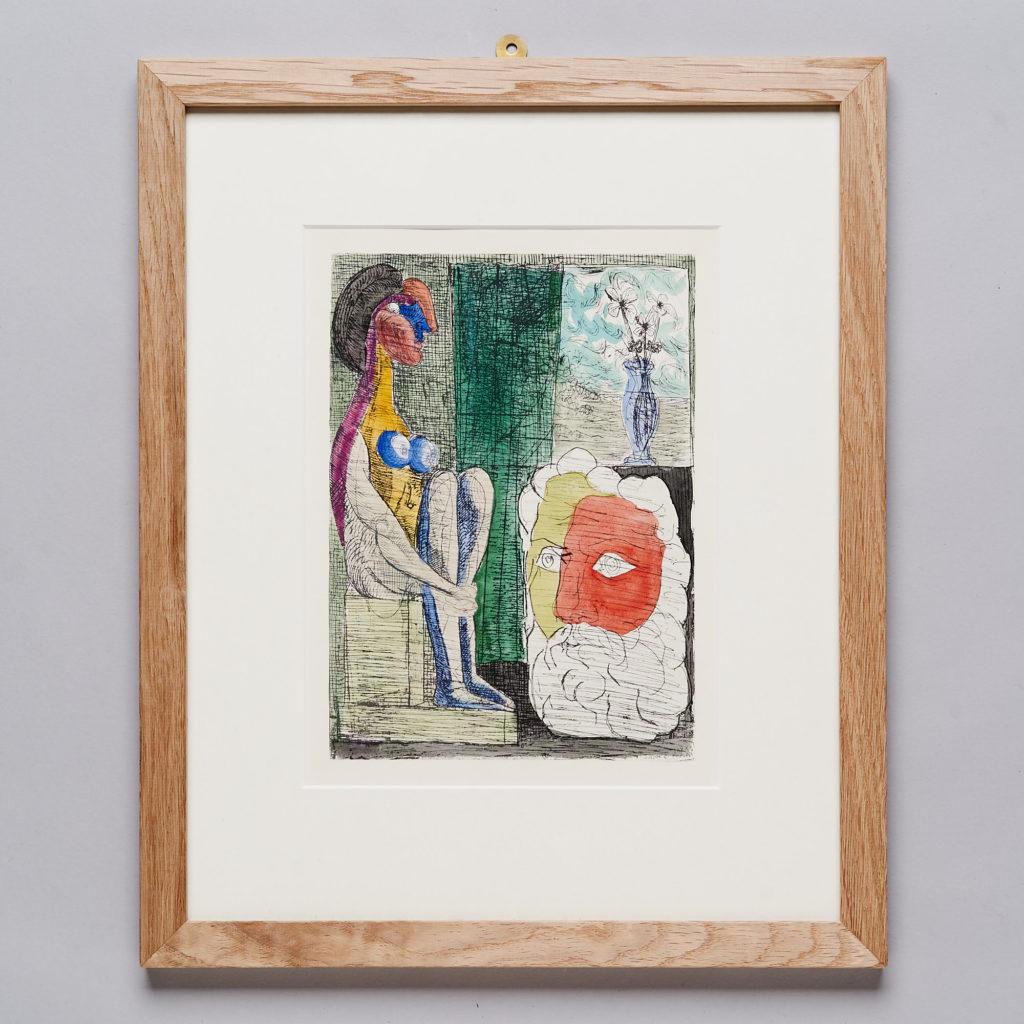 Hand coloured Pablo Picasso lithograph-0