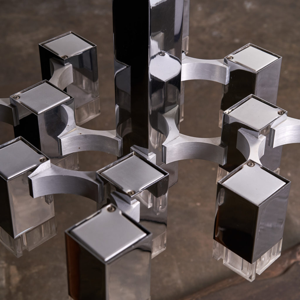 Italian 'Cubic' Chandelier,-136105