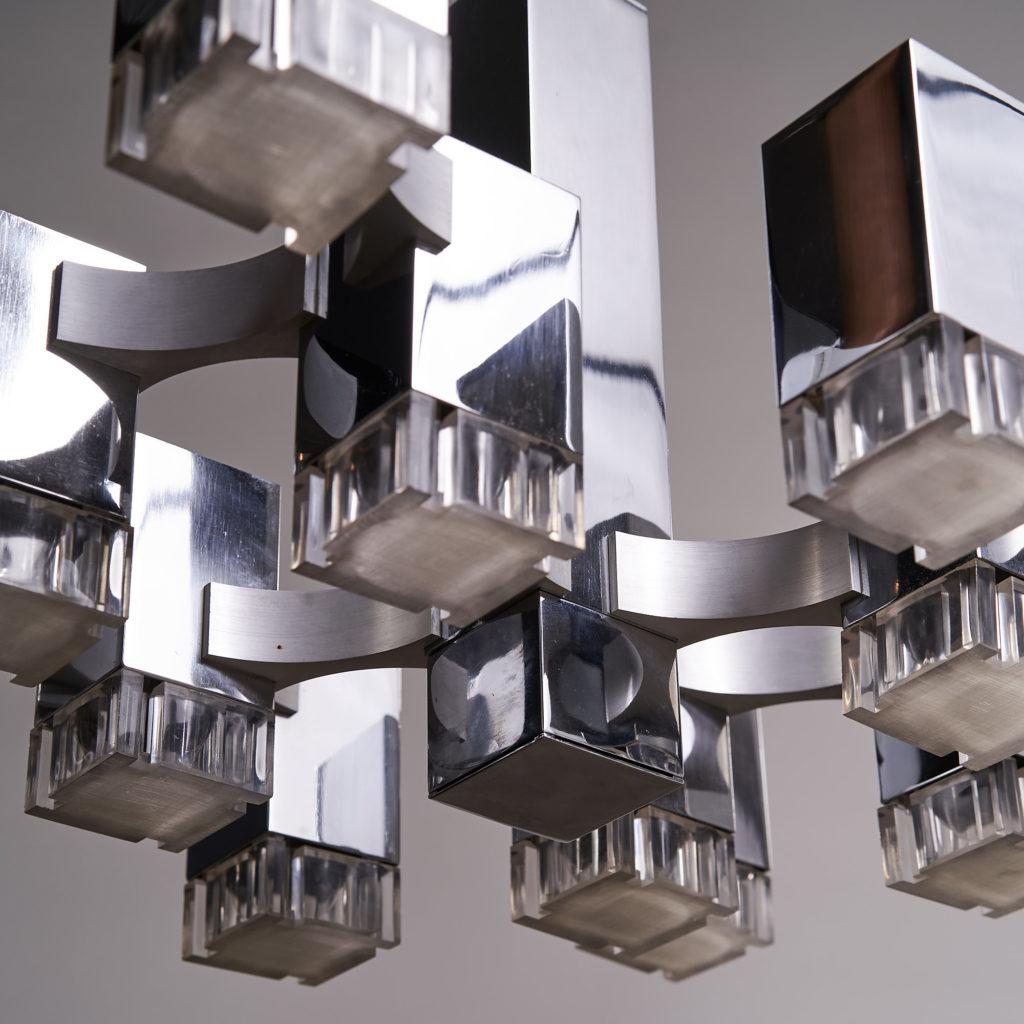 Italian 'Cubic' Chandelier,-136106