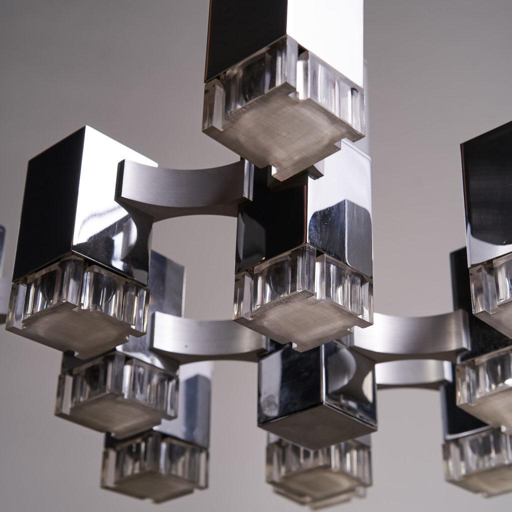 Italian 'Cubic' Chandelier,-136107