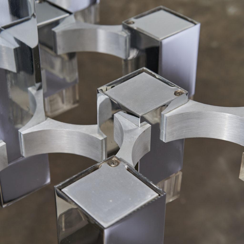 Italian 'Cubic' Chandelier,-136112