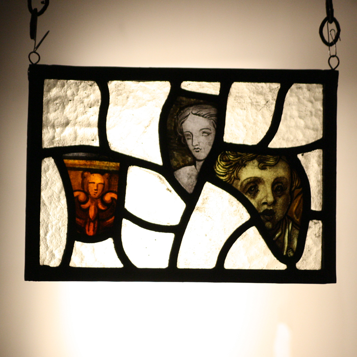 stained glass hanger