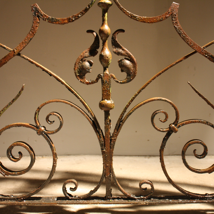 arched grille