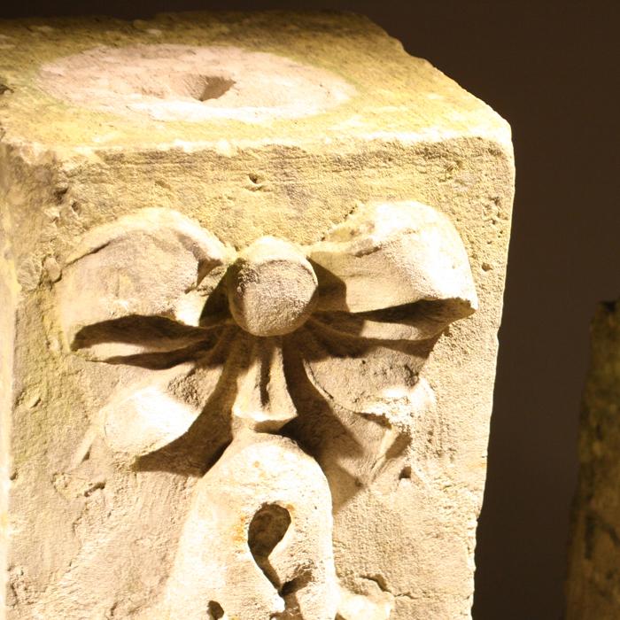 stone pedestal