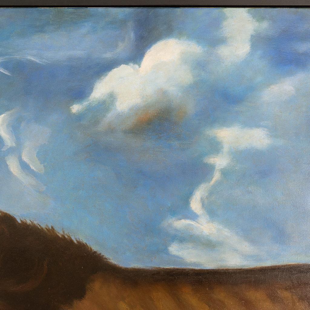 Majestic lion in a landscape-136222