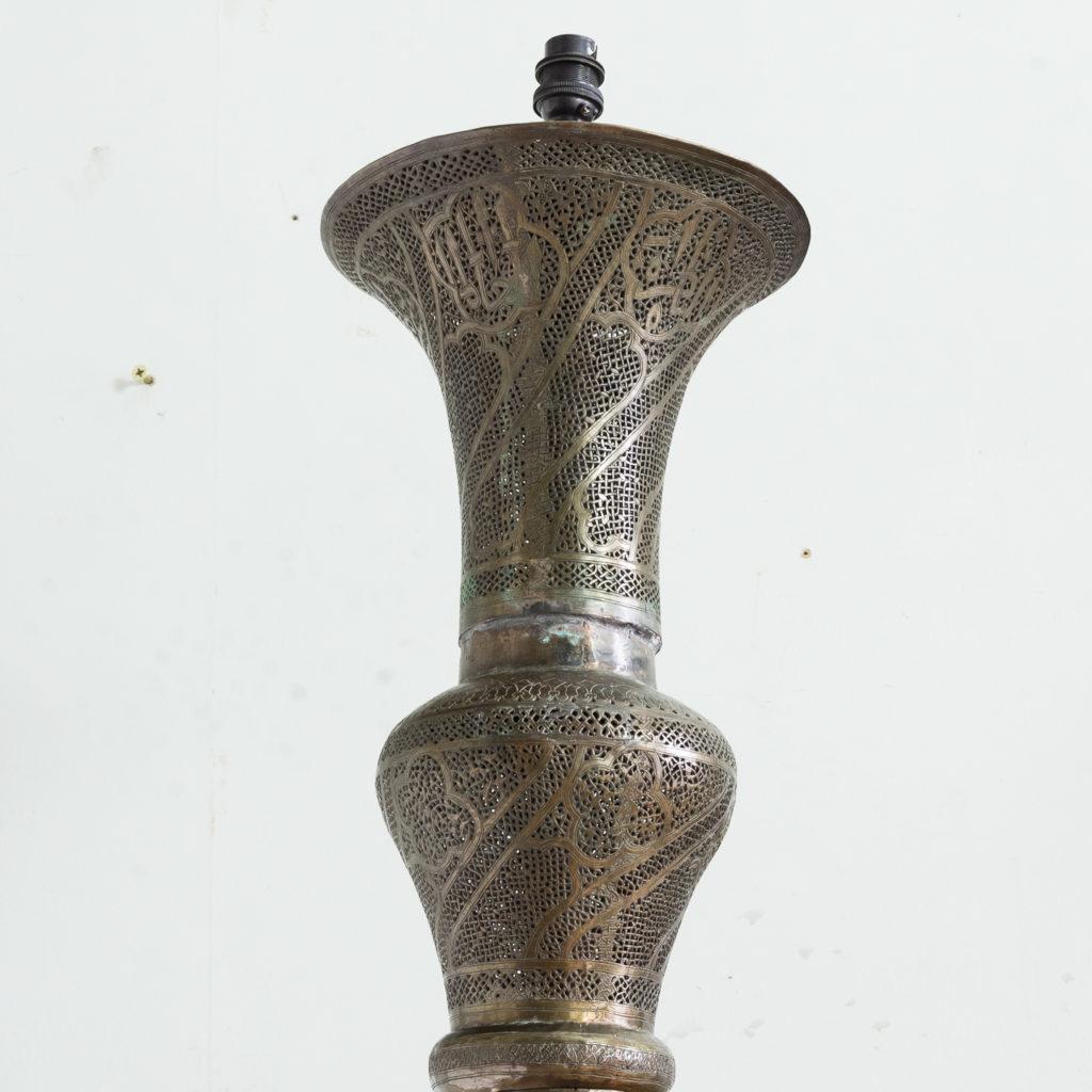 Late nineteenth century Moorish standard lamp,-135600