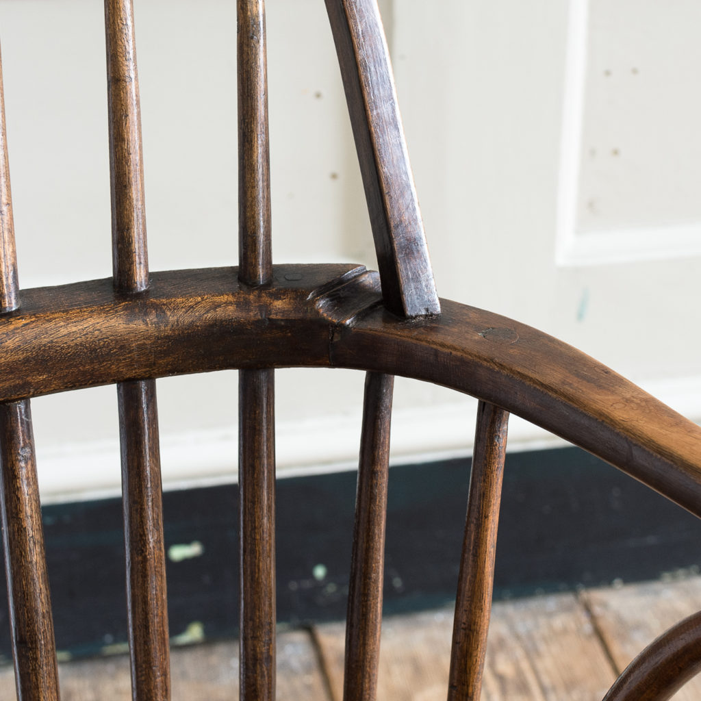 Late eighteenth century West Country Windsor chair,-135255