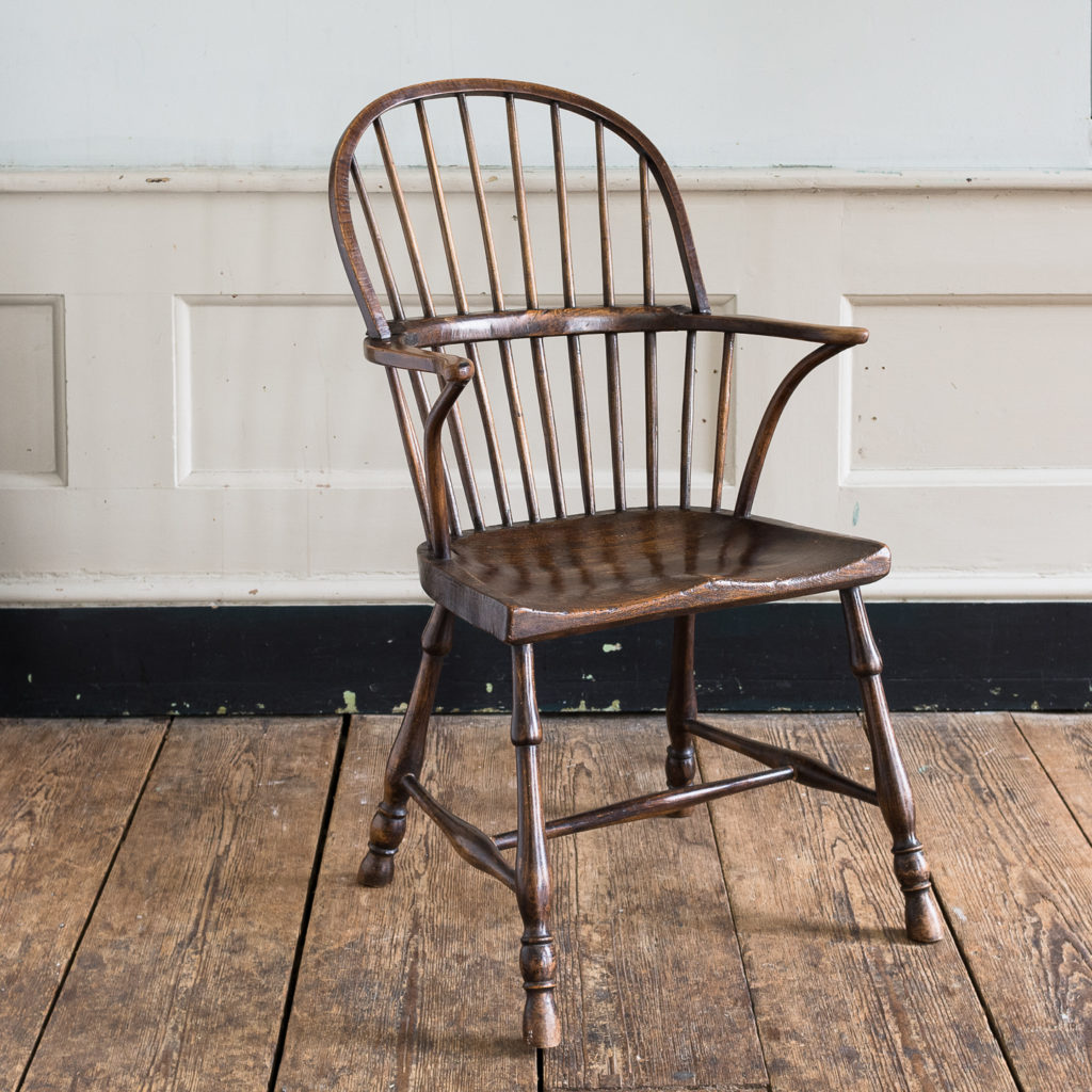 Late eighteenth century West Country Windsor chair,-135260