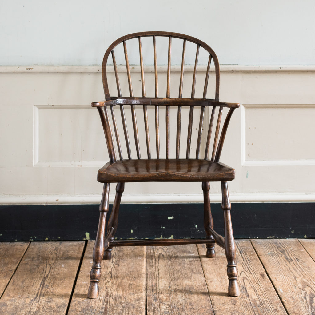 Late eighteenth century West Country Windsor chair,-135249