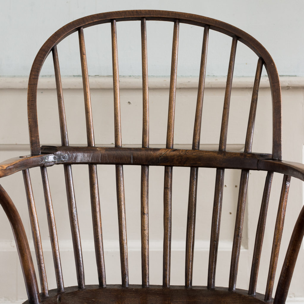 Late eighteenth century West Country Windsor chair,-135250