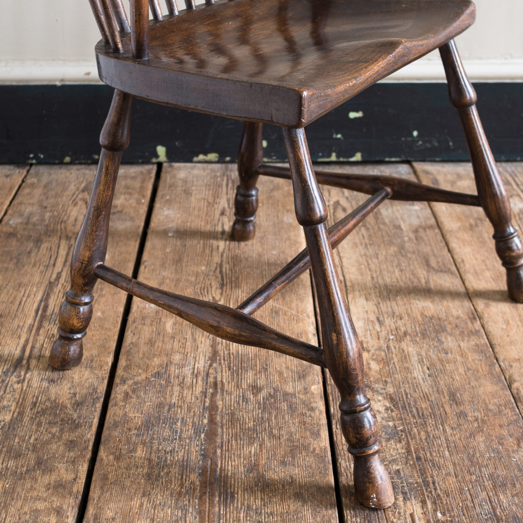 Late eighteenth century West Country Windsor chair,-135251