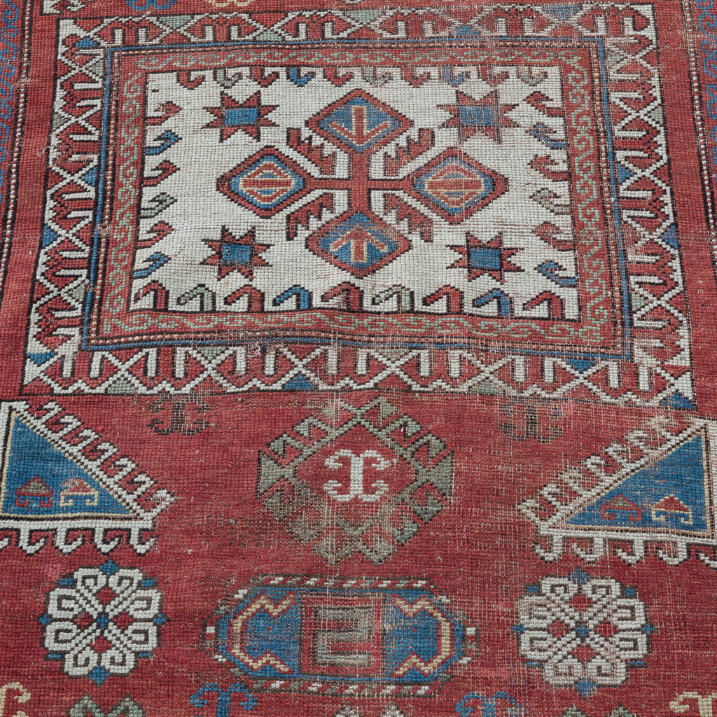 Early twentieth century Kazak prayer rug,-135679