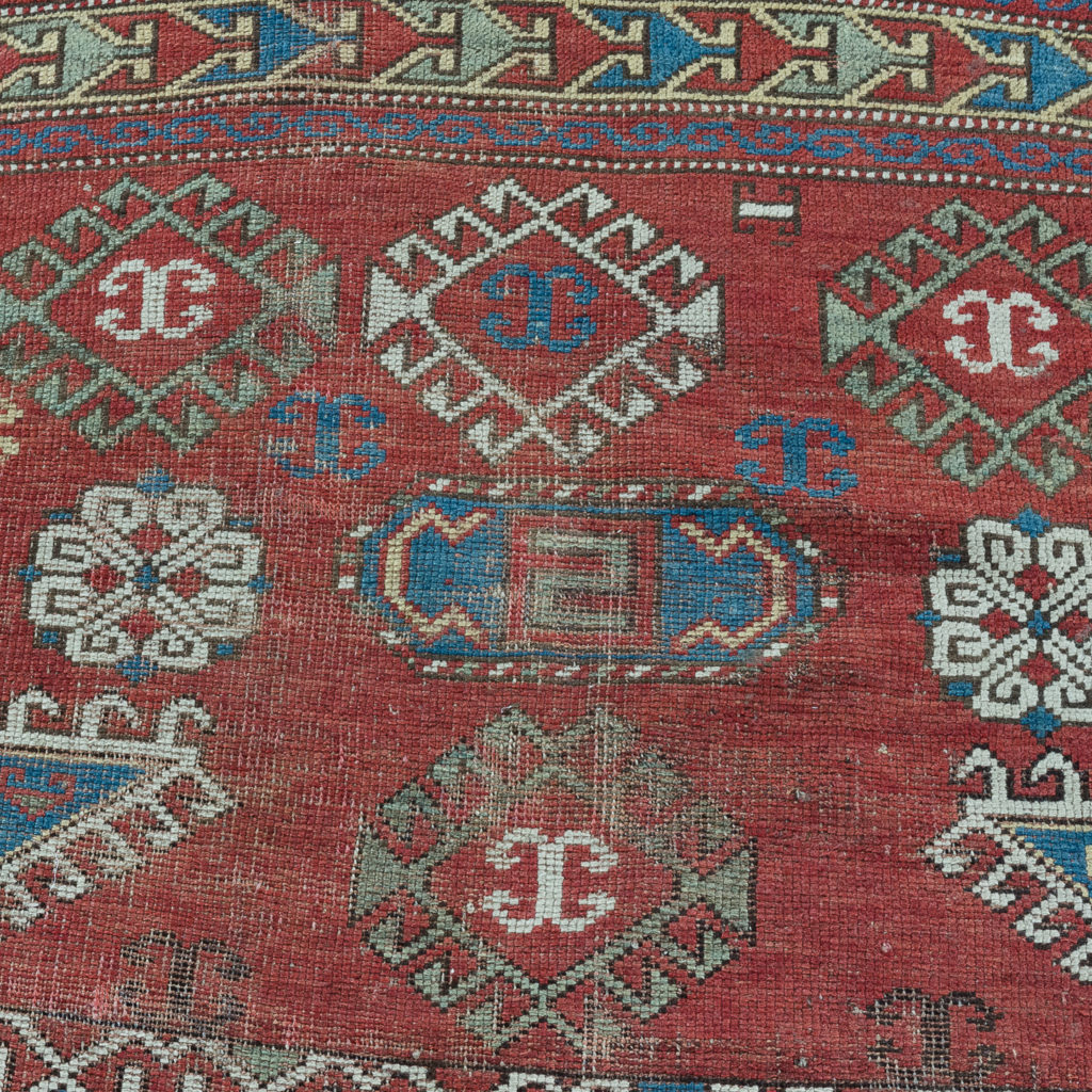 Early twentieth century Kazak prayer rug,-135682