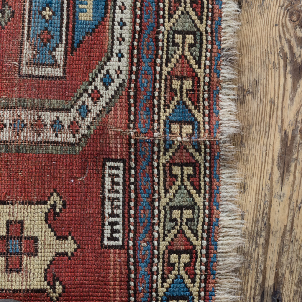Early twentieth century Kazak prayer rug,-135683