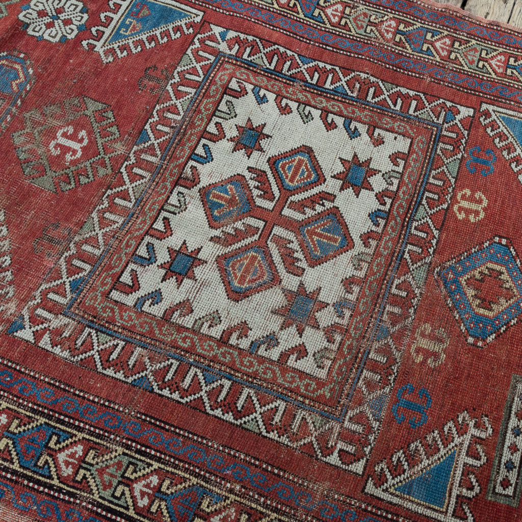 Early twentieth century Kazak prayer rug,-135684