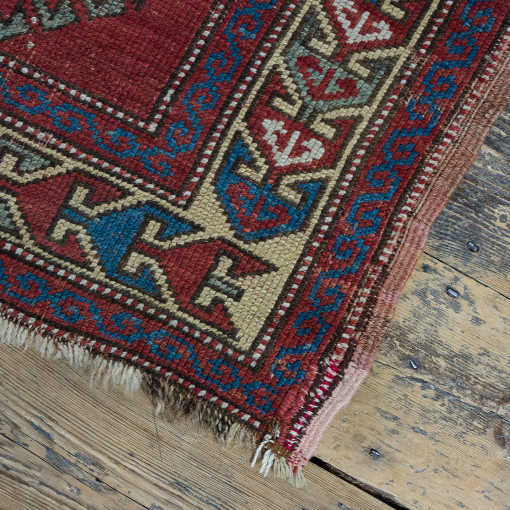 Early twentieth century Kazak prayer rug,-135685