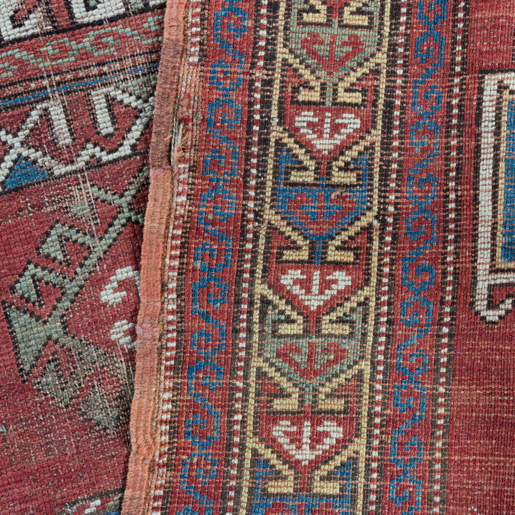 Early twentieth century Kazak prayer rug,-135686