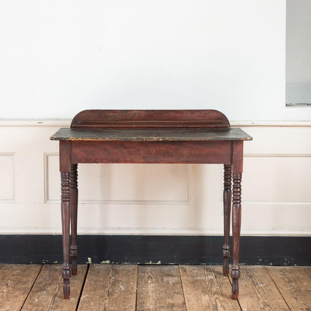 Nineteenth century grained washstand,