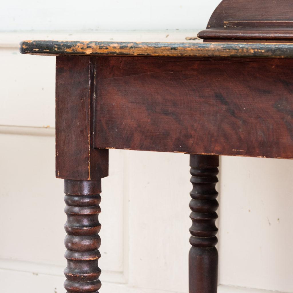 Nineteenth century grained washstand,-135942