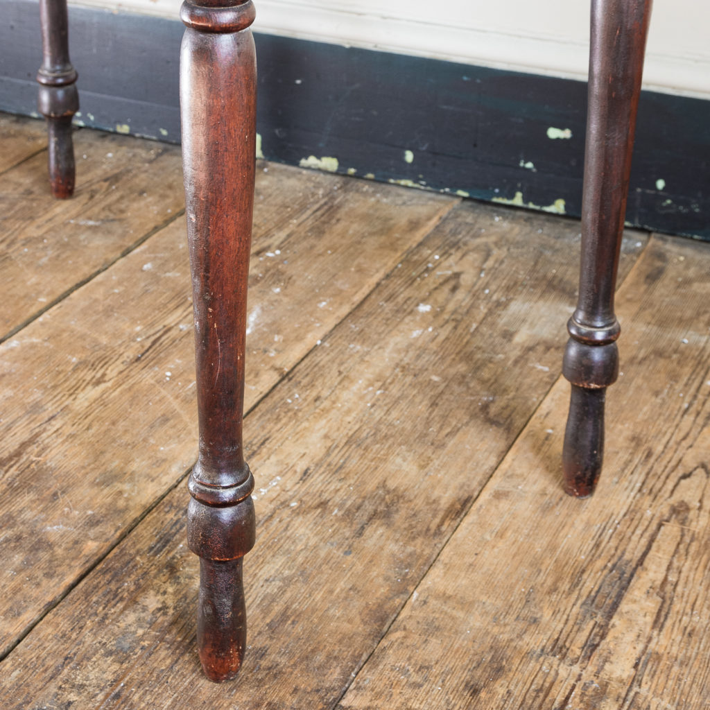 Nineteenth century grained washstand,-135946