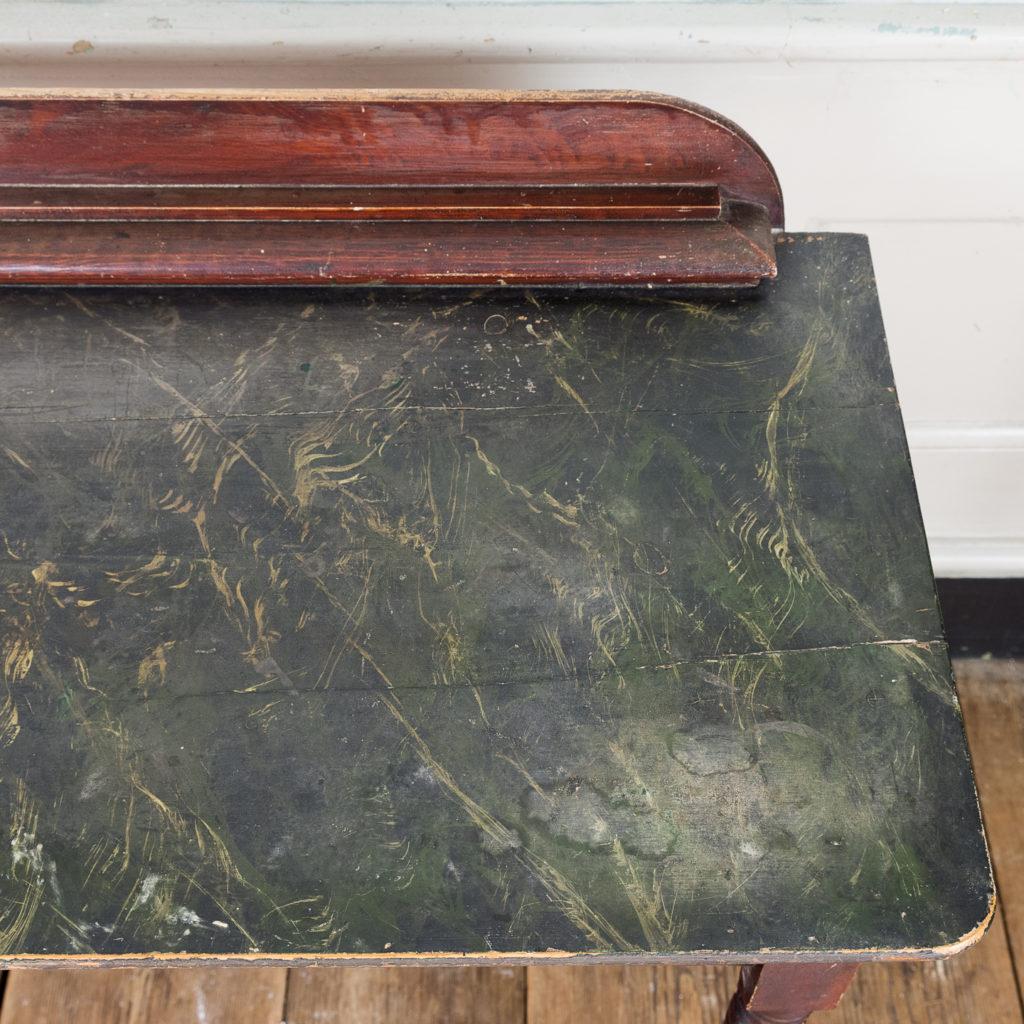 Nineteenth century grained washstand,-135939