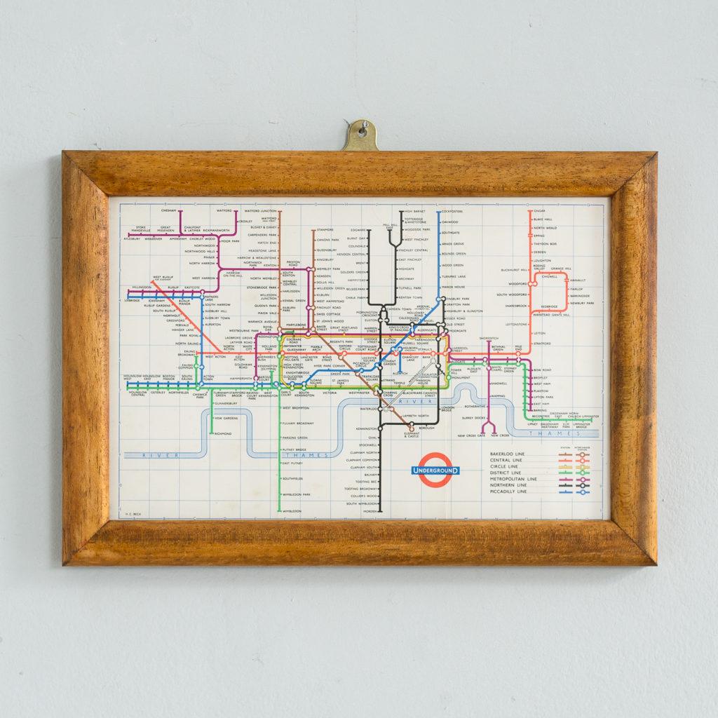 London Underground 1959 map