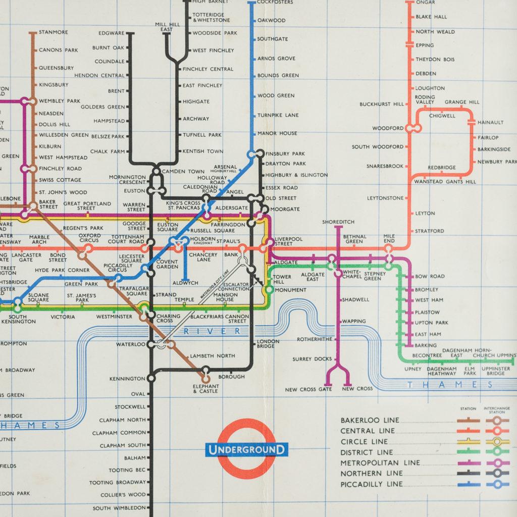 Underground 1959 map-135583
