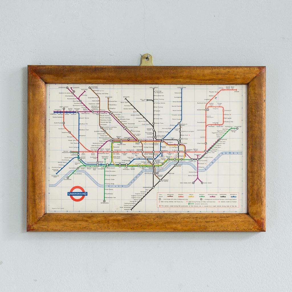 London Underground 1965 map