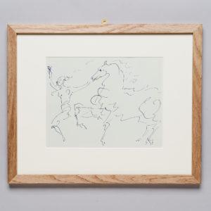 Pablo Picasso 'Pour Eugenia' lithograph,-0