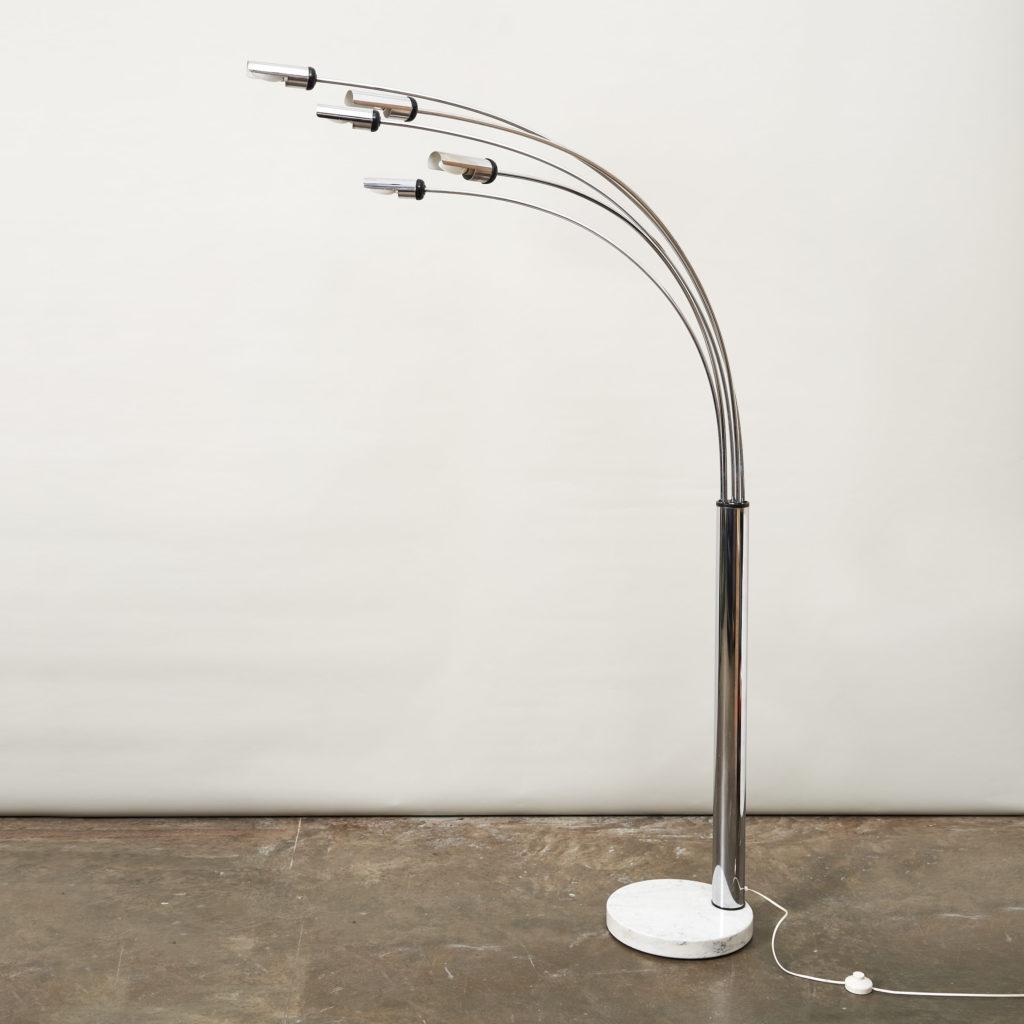 1960's Italian branched floor lamp,-0