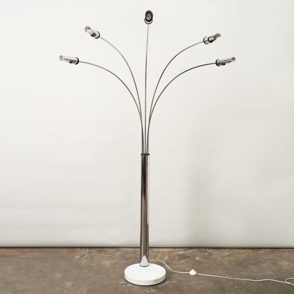 1960's Italian branched floor lamp,-137075