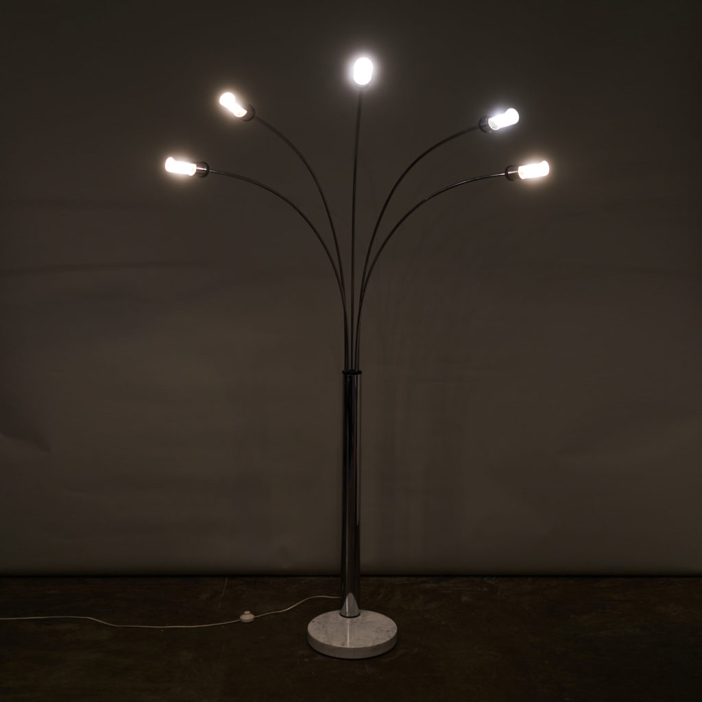 1960's Italian branched floor lamp,-137077