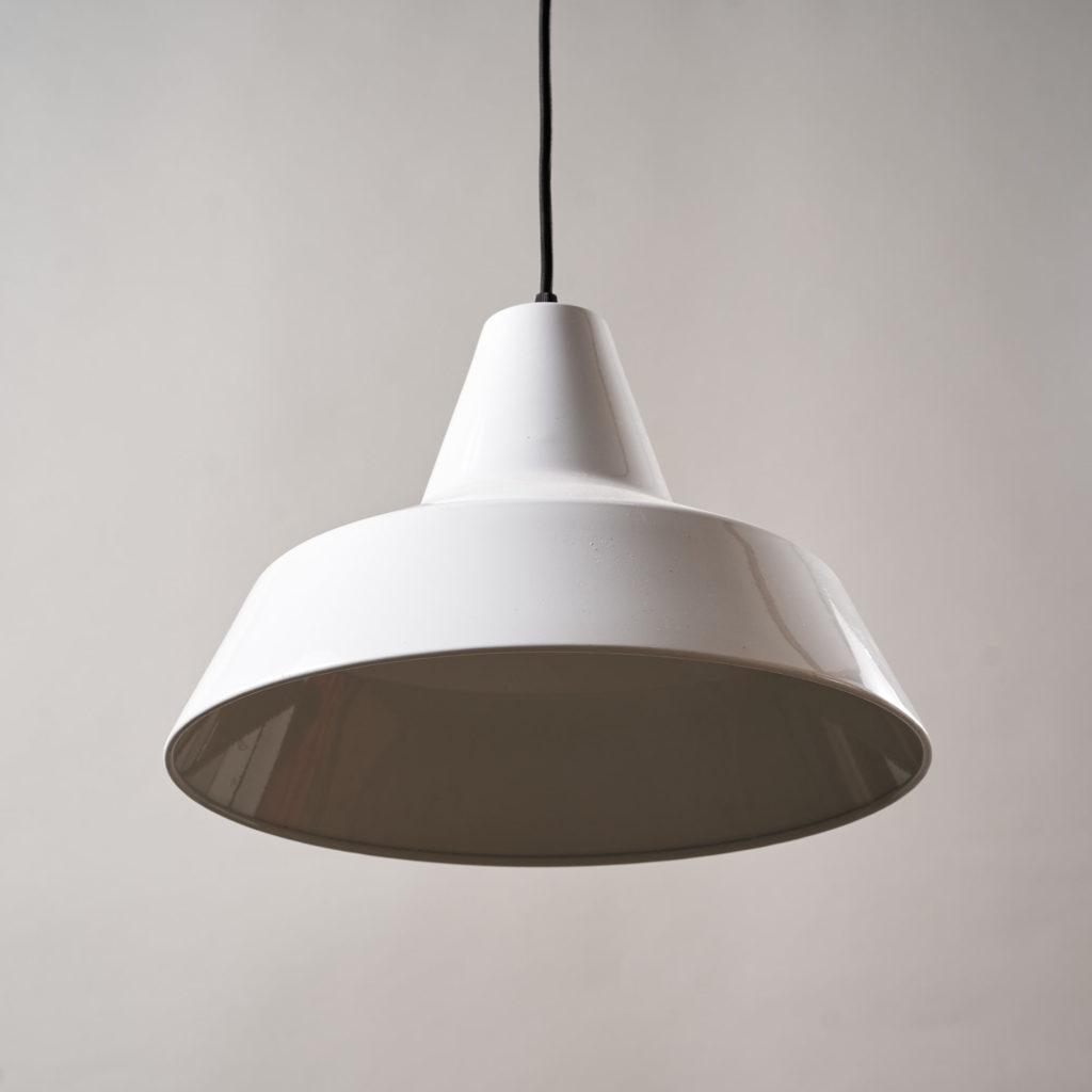 Danish enamelVærkstedspendel factory pendant light,-137093