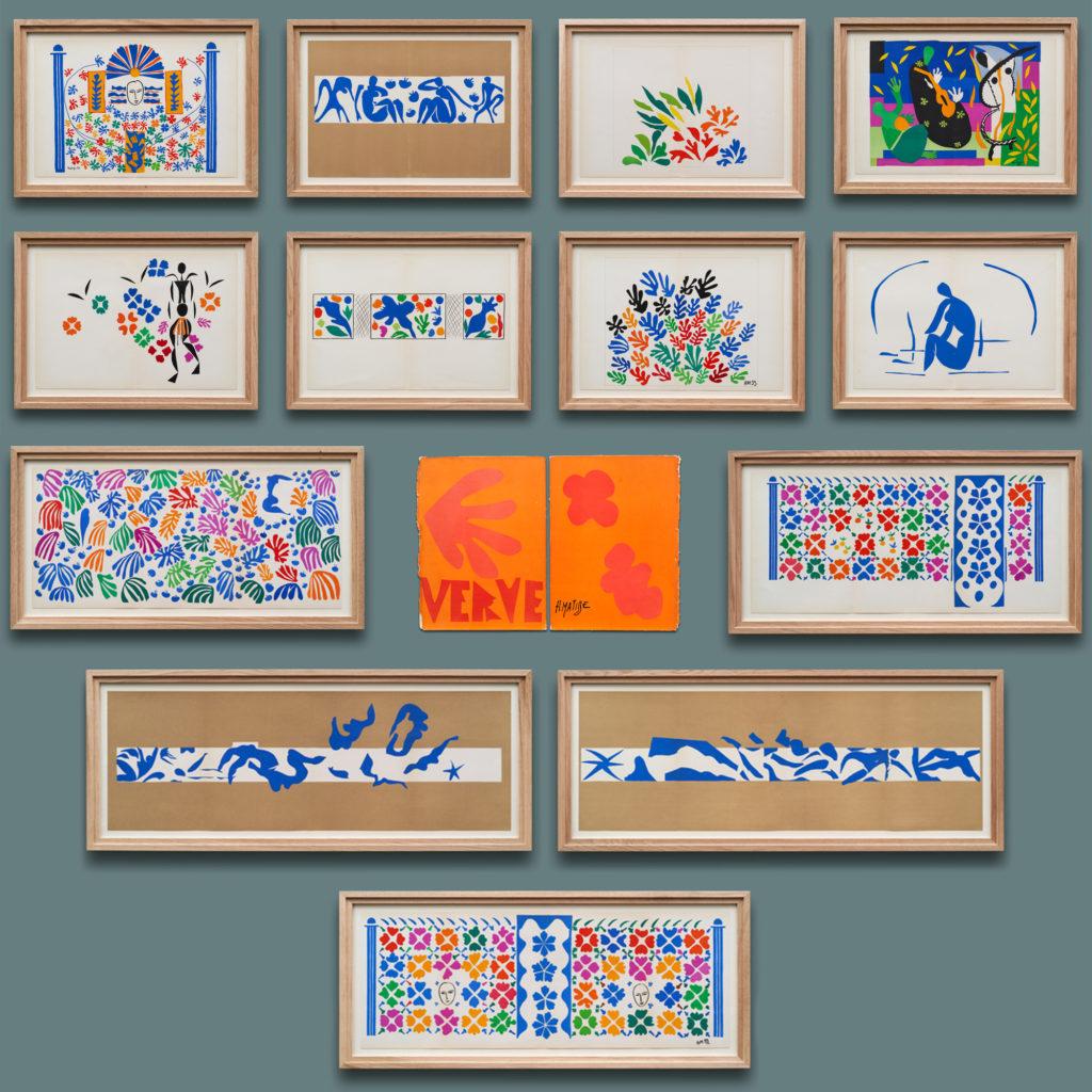 Verve, 'The Last Works of Henri Matisse',-136883