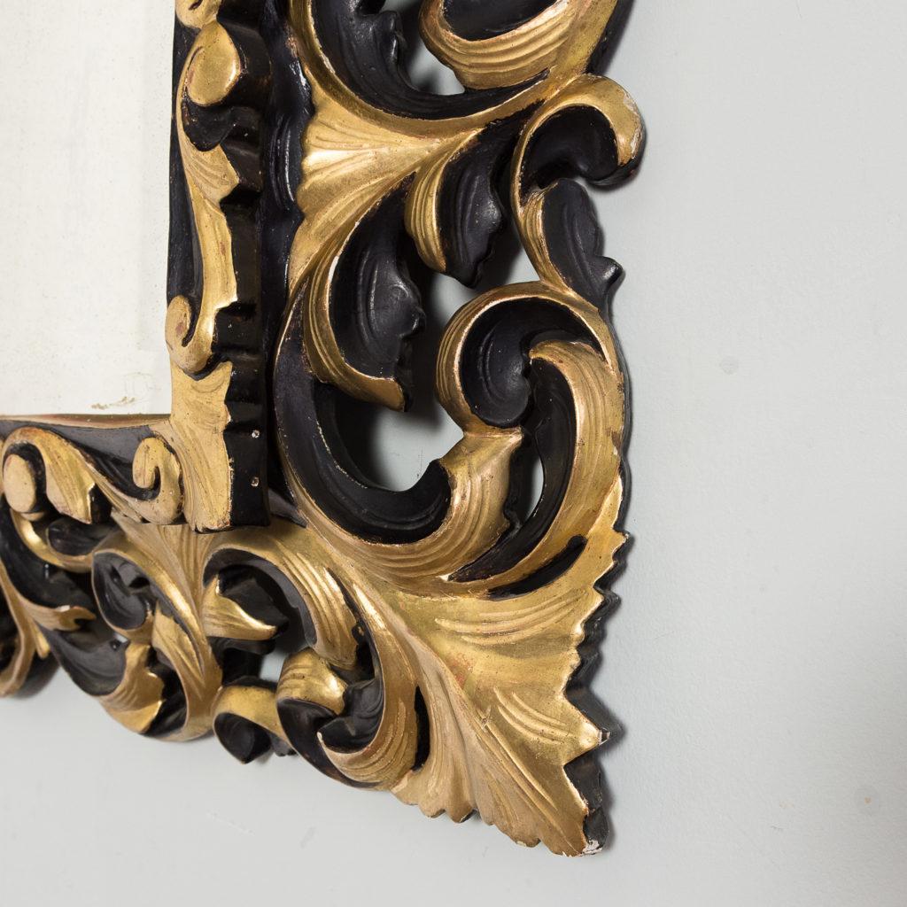 Early twentieth century Italian giltwood wall mirror,-136624