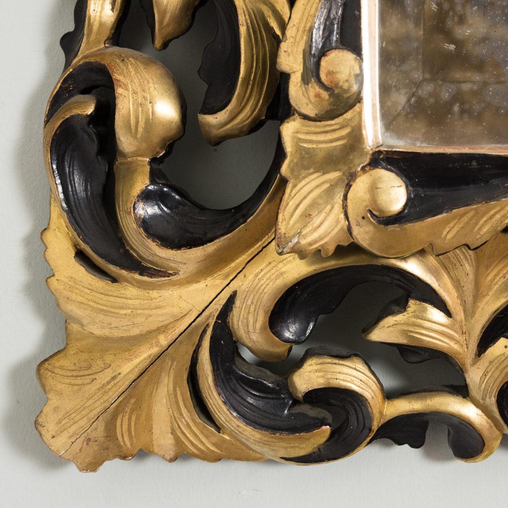 Early twentieth century Italian giltwood wall mirror,-136627