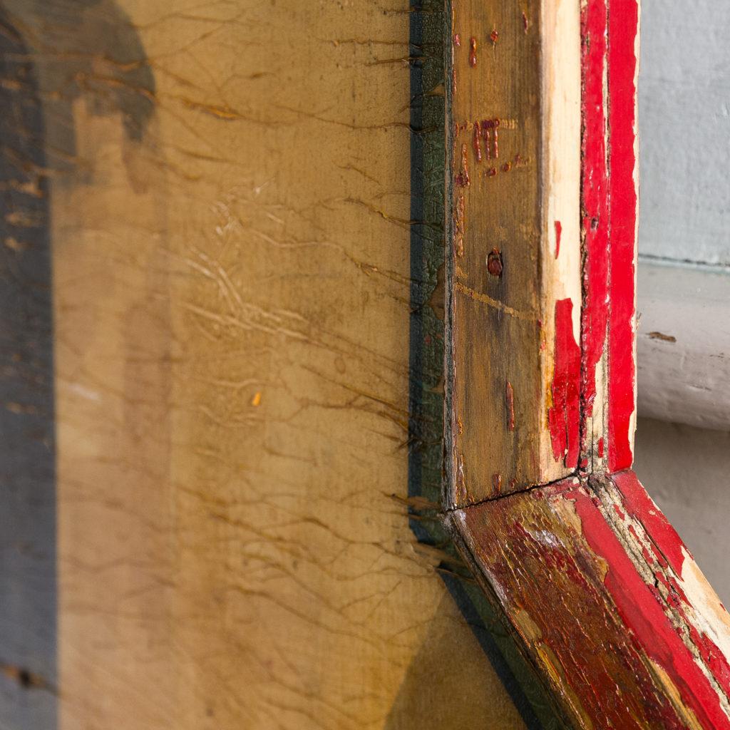 Pair of English mid-twentieth century painted fairground panels,-136980