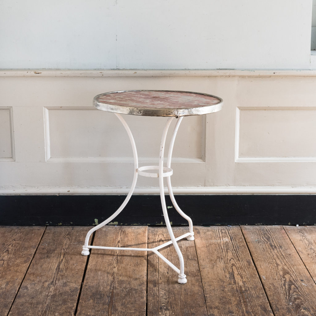1930s French cafe table,