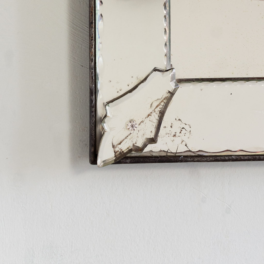 1930s Venetian acid-etched mirror, -137050