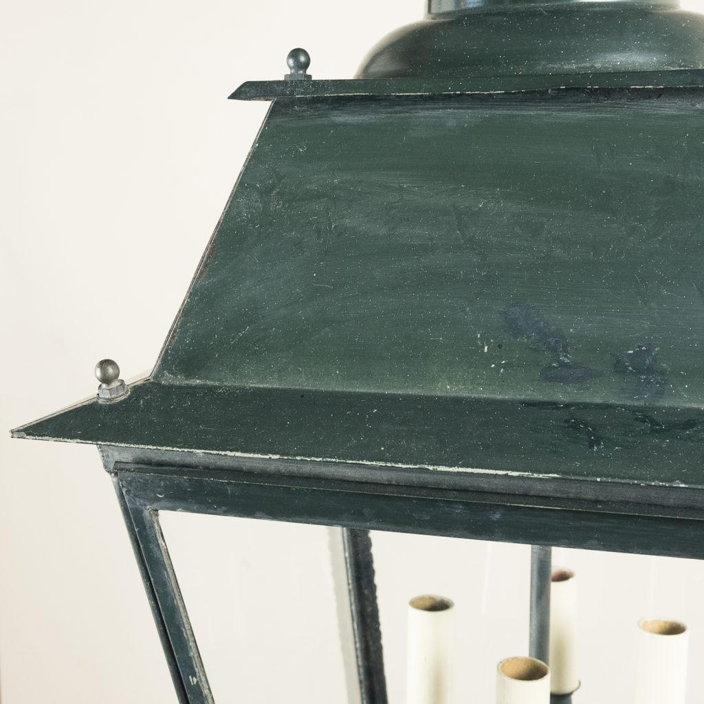 French early twentieth century style glazed lanterns, -136926