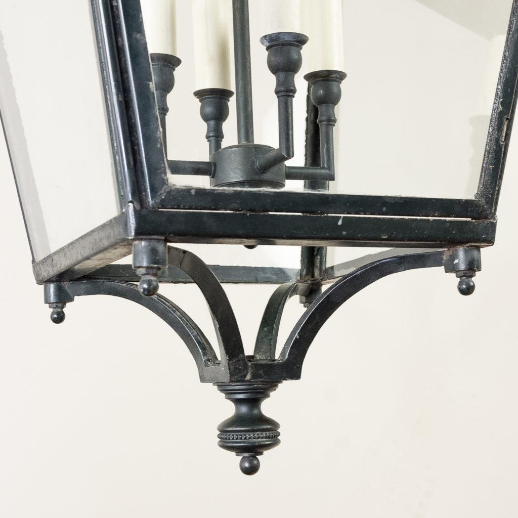 French early twentieth century style glazed lanterns, -136922