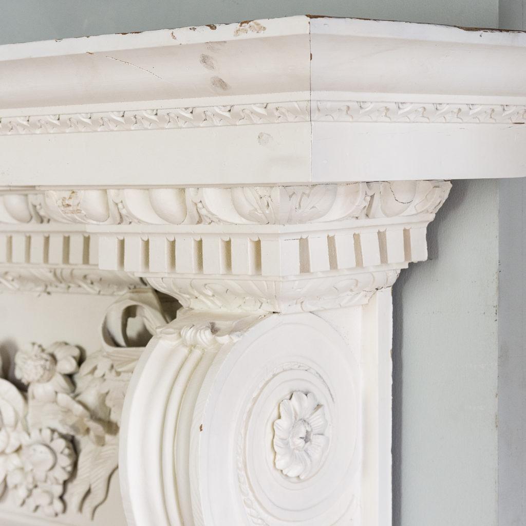 George II pinewood breakfront overdoor, -136966