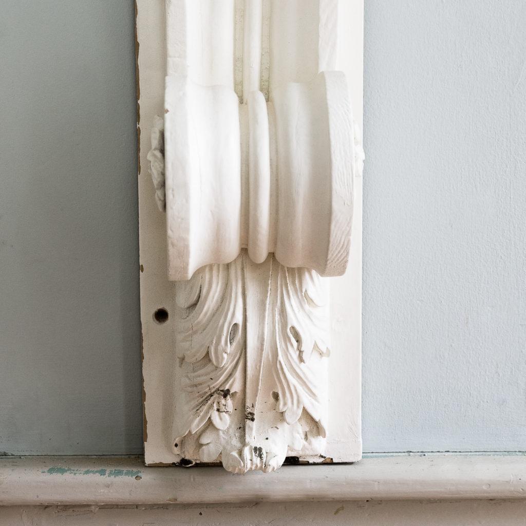 George II pinewood breakfront overdoor, -136967
