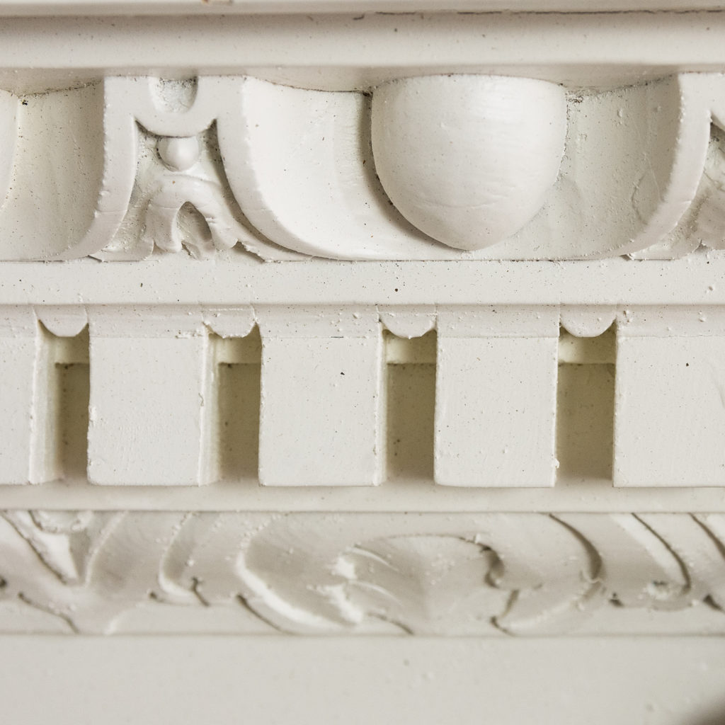 George II pinewood breakfront overdoor, -136969