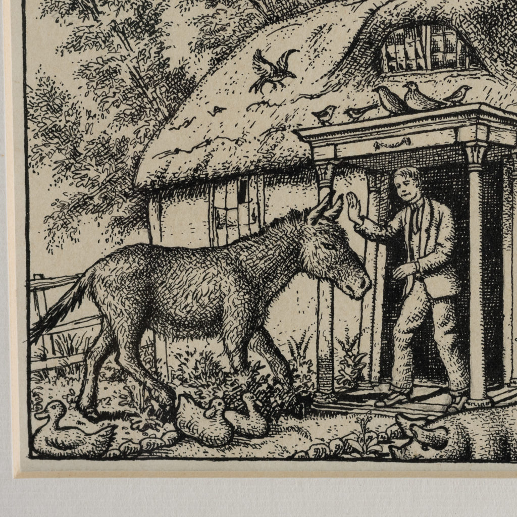 Cottage by George Charlton-136486
