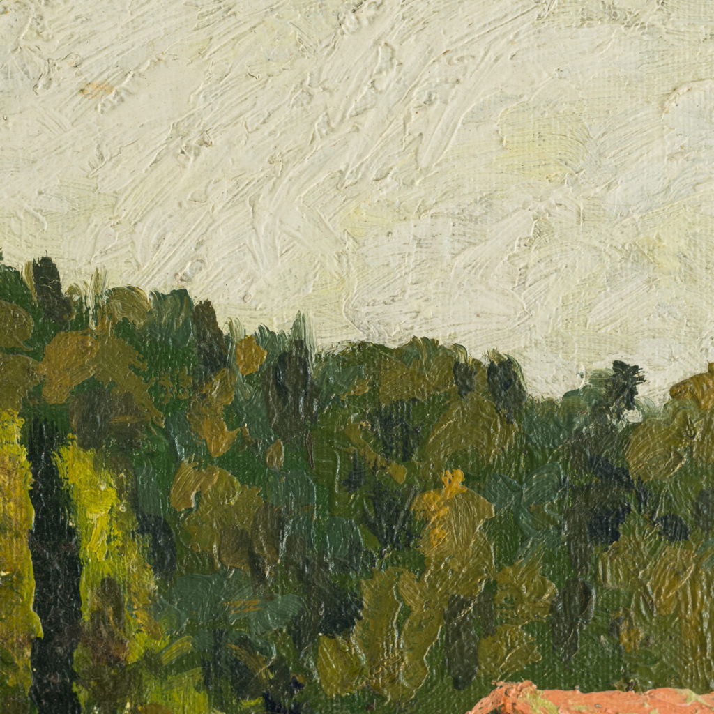 French Landscape by George Charlton-136551